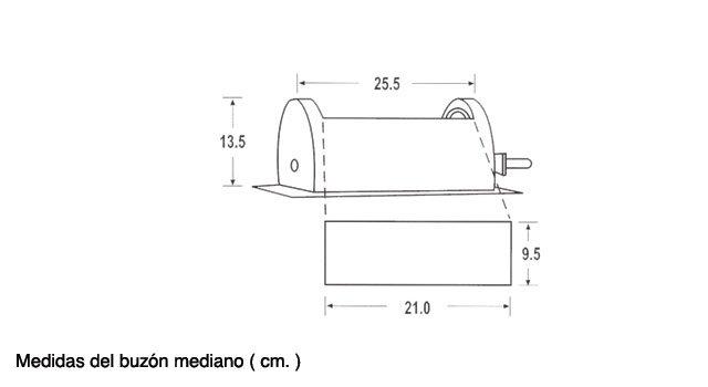 buzón rotativo y doble control