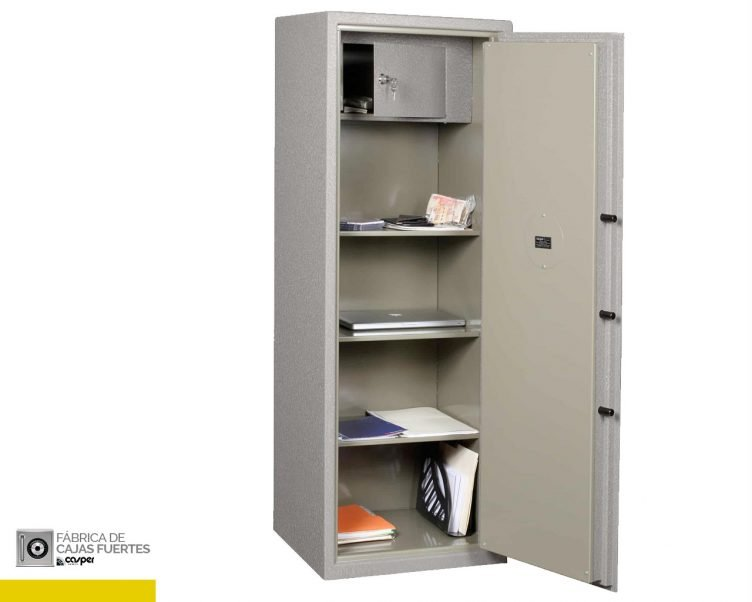 Caja Fuerte de uso general 152 abierta
